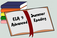 ELA 9 Advanced Summer Reading image