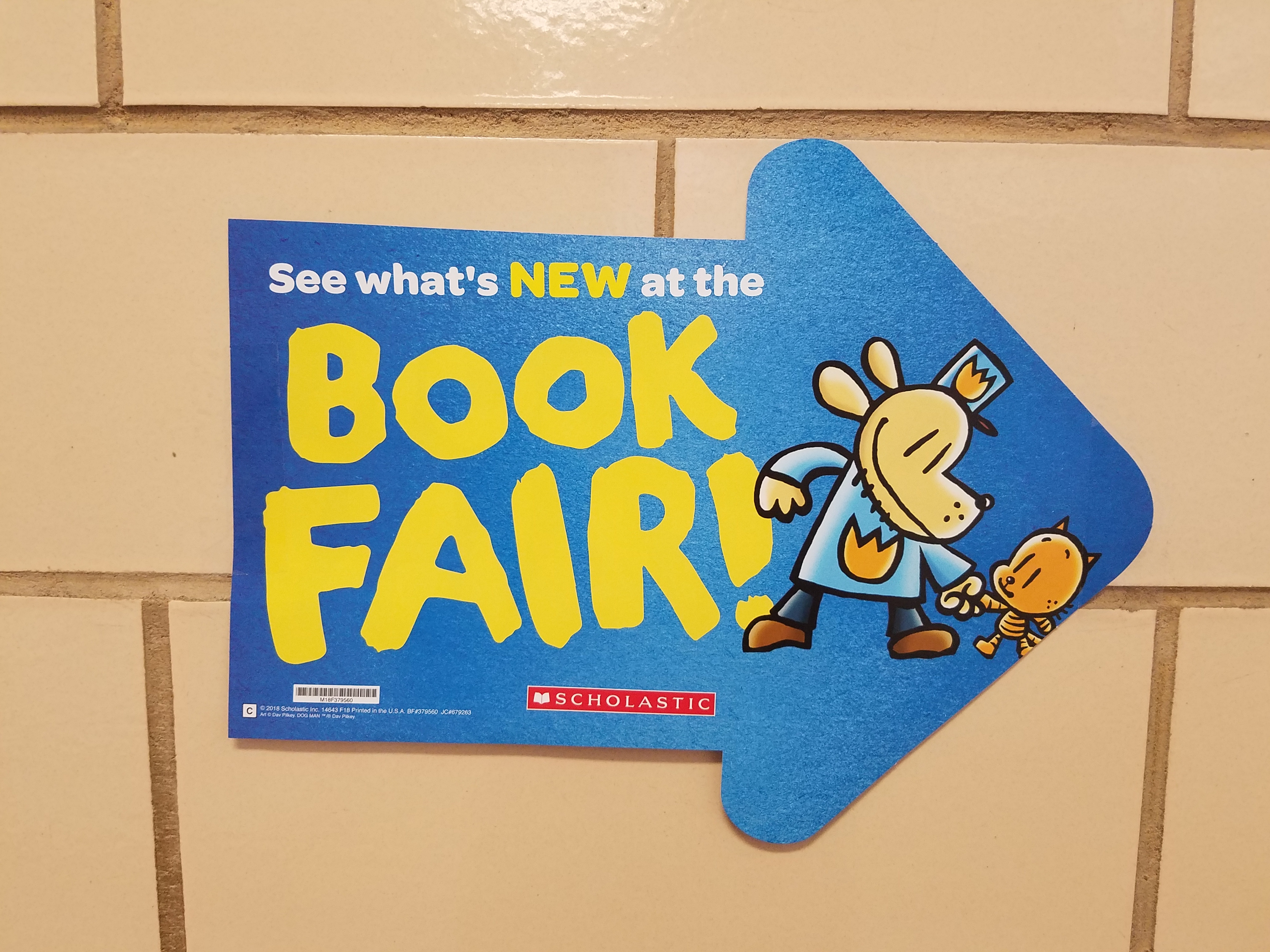 The Book Fair is coming to Union Elementary.