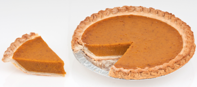 You can eat pumpkin pie during Thanksgiving Break.