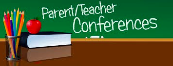 Parent Teacher Conferences are the week of October 22.