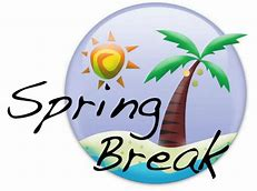 spring break graphic