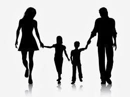 pic of parents holding hands with children