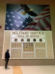 Military Wall of Honor photo by Norm Lewis